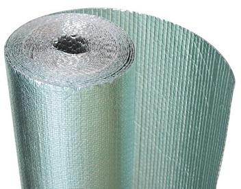 Anti glare bubble wrap insulation