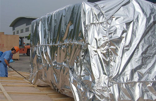 Moisture proof Insulation liner anticorrosion barrier foil for Panel Export Packaging