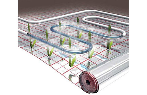 reflective met pet coated pe lamination film for floor building insulation